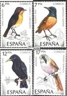 Espagne 2704-2707 (complète.Edition.) Neuf Avec Gomme Originale 1985 Oiseaux - 1931-Heute: 2. Rep. - ... Juan Carlos I
