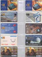 LOT 80 CARTES PHONECARDS SCHEDE FRANCE MALTA BOLIVIA GREECE GRECE JAPAN RUSSIA - Schede Telefoniche