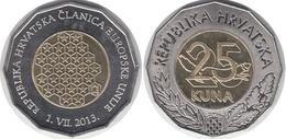 Croatia, 25 Kuna, 2013 EU - Croazia