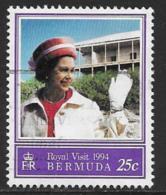 Bermuda Scott # 664 Used Royal Visit, 1994 - Bermuda