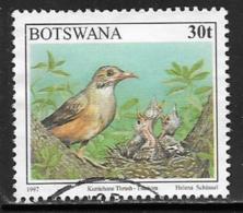 Botswana Scott # 625 Used Birds, 1997 - Botswana (1966-...)