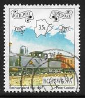 Botswana Scott # 638 Used Train, 1997 - Botswana (1966-...)