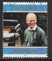 Botswana Scott # 644 Used Prince Phillip, 1997 - Botswana (1966-...)