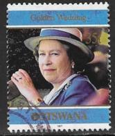 Botswana Scott # 645 Used Queen, 1997 - Botswana (1966-...)