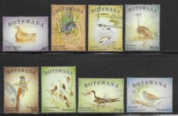 Botswana Scott # 940-3,945-8 Used Birds, 2014 - Botswana (1966-...)
