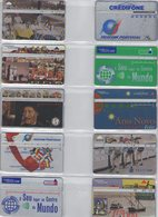 LOT 30 CARTES PHONECARDS SCHEDE PORTUGAL - Portugal