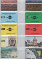 LOT 24 CARTES PHONECARDS SCHEDE GHANA - Portugal