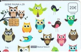 SPAIN - Birds(29), Isern Telecard 20 Euro, Tirage 25000, 06/16, Used - Other