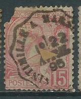Timbre Monaco Yvt 15 Obliteration Ventimille - Monaco