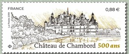 France 2019 Château De Chambord 500 Ans - MNH / Neuf* - France