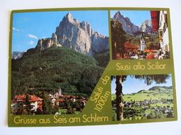 SALUTI  DA   SIUSI ALLO SCILAR BOLZANO TRENTINO    VIAGGIATA  COME DA FOTO - Bolzano (Bozen)