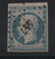 PC  447  Isère - Marcofilie (losse Zegels)