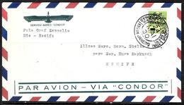 690 - BRASIL - 1930 - ZEPPELIN FLIGHT - COVER - FAUX, FORGERY, FALSE, FALSCH, FALSO - Non Classés