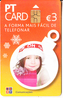 PORTUGAL - Little Girl, Tirage 30000, 10/06, Used - Portugal