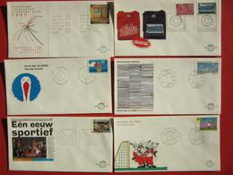 MO014e NICE COLLECTION LEUKE COLLECTIE FDC'S NEDERLAND 1979 - 2006 - Postzegels