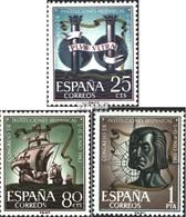 Espagne 1401-1403 (complète.Edition.) Neuf Avec Gomme Originale 1963 Congrès De La Culture - 1961-70 Ungebraucht