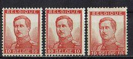 Belgien 1912 // Mi. 100 ** 3x - 1912 Pellens