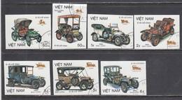 Vietnam 1984 - Autos, Imperforated, Canceled - Vietnam