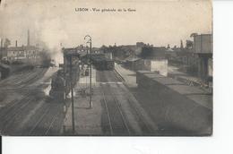 LISON   Vue Generale De La Gare 1926 - Andere Gemeenten