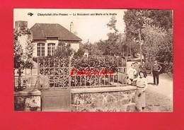 87 Haute-Vienne  CHAPTELAT Le Monument Aux Morts Et La Mairie - France