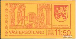 Schweden MH68 (kompl.Ausg.) Postfrisch 1978 Västergötland - 1951-80