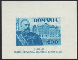 Rumänien 1945 - Mi-Nr. Block 26 ** - MNH - König Karl I - 1918-1948 Ferdinand, Carol II. & Mihai I.
