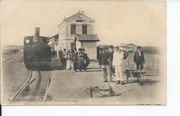 PORT DE L'EAU   La Gare L'arrivee D'un Train 1911 - France