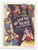 1939 PUB CINEMA OUD BRUGGE VIEUX BRUGES PATHE CHARLOT FILMS WALT DISNEY BLANCHE NEIGE SNEEUWWITJE SNOW WHITE - Publicités