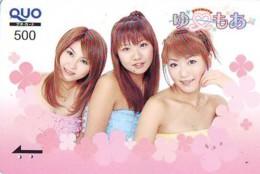 Télécarte Japon * EROTIQUE (6638)  *  EROTIC PHONECARD JAPAN * TK * BATHCLOTHES * FEMME SEXY LADY LINGERIE - Fashion