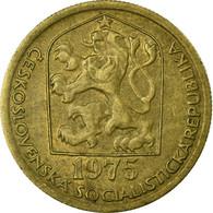 Monnaie, Tchécoslovaquie, 20 Haleru, 1975, TB+, Nickel-brass, KM:74 - Tchécoslovaquie