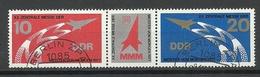 Germany DDR 1977 Michel 2268 - 2269, Stripe, O - [6] République Démocratique