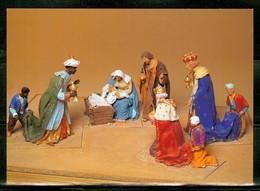 Santon : La Nativité Avec Les Rois. Provence Carte Postale Neuve / Mint Post Card (0890) - Non Classés