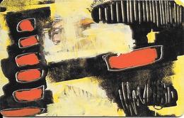 CARTE-PUCE-LUXEMBOURG-50U-SC02-SC7-1994-ART CONTEMPORAIN-2-SERGE KOCH-V° N° Série-C4B147512-TBE - Luxembourg