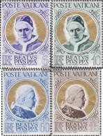 Vatikanstadt 174-177 (complete Issue) Unmounted Mint / Never Hinged 1951 Beatification - Unused Stamps