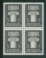 Austria 1960 - EUROPA In Viererblock, MNH** - 1945-.... 2nd Republic
