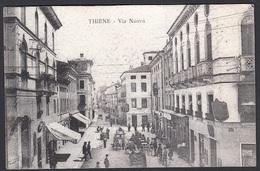 Italia  -  THIENE, Via Nuova, Viaggiata 1918 - Venezia (Venice)