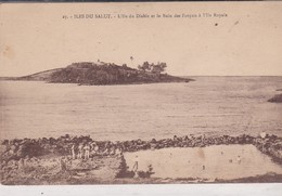 CAYENNE . ILE DU SALUT . L' Île Du Diable Et Le Bain Des Forçats à L' Île Royale - Guyane
