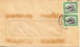 SUD-OUEST AFRICAIN (SWA). N°102 & 114 De 1931 Sur Enveloppe Ayant Circulé. Outarde. - Grues Et Gruiformes