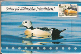 Playing Cards From Posten Aland 2001, With Duck Souvenir - Aland