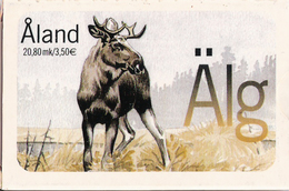 Playing Cards From Posten Aland 2001, With Moose, Elk  Souvenir - Aland