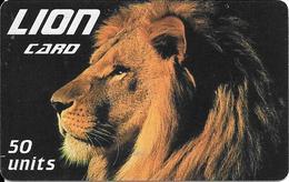 CARTE-PREPAYEE-ITALIE-50U LION-TBE-RARE - Jungle