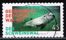 Bund 2019, Michel# 3437 O Der Schweinswal - Gefährdete Deutsche Walart Selbstklebend, Selfadhesive - Used Stamps