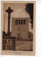 07 LA  CHAPELLE GRAILLOU Alt 1135m Facade De L'Eglise, Croix - France