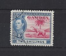 GAMBIA...KING GEORGE .VI.(1936-52)...2/-...VFU... - Gambie (...-1964)