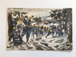 AK Combats De Hartmansweilerkopf Hartmanswiller Vieil Armand - Guerre 1914-18