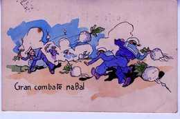1915 CARTE POSTALE GRAN COMBATE NABAL   TC114 - Guerra 1914-18