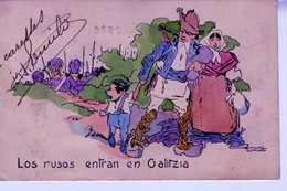 1915 CARTE POSTALE LOS RUSOS ENTRAN EN GALITZIA   TC117 - Guerra 1914-18
