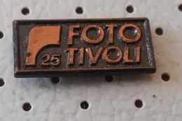Photo Studio TIVOLI Ljubljana 25 Years Camera Slovenia Pin - Photography