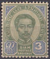 SIAM - 1887 - Yvert 9 Nuovo MH. - Siam