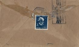 1955 , INDIA PORTUGUESA , SOBRE CIRCULADO , MARGAO / GOA - VERAVAL - Portuguese India